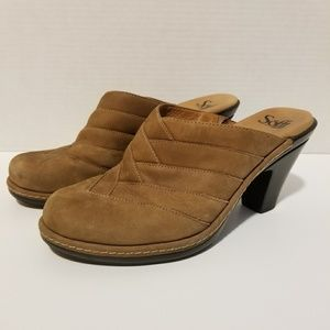Sofft Suede Leather Clogs Mules